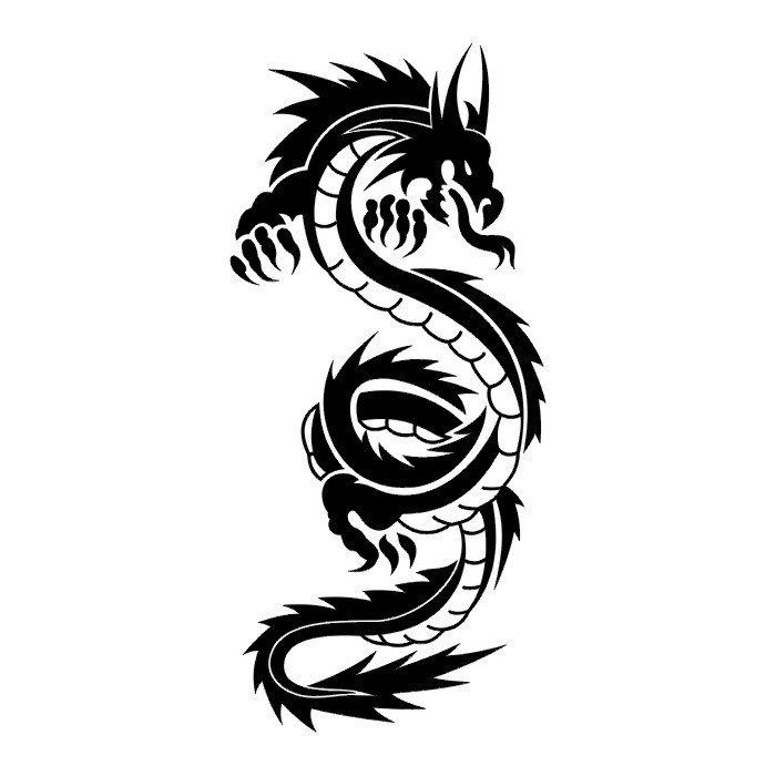 Wzory Tatuaży Smok