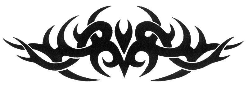 wzory tatuaży, tribale