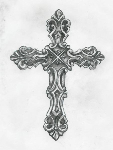 Catholic Cross Tattoos For Girls tatuaże - krzyże 169...