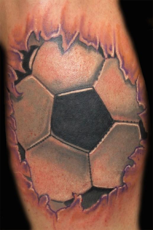 pi  kaTribal Soccer Tattoos