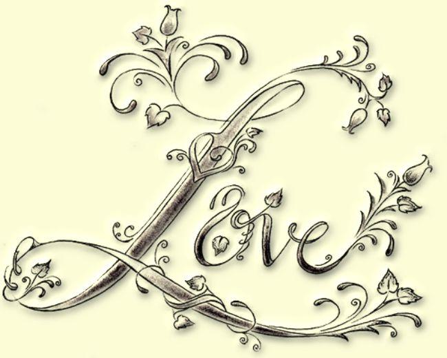 miłosne wzory tatuaży