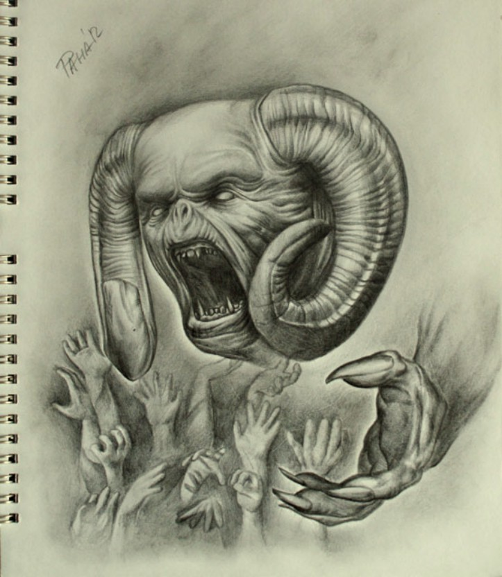 wzory tatuaży diabły