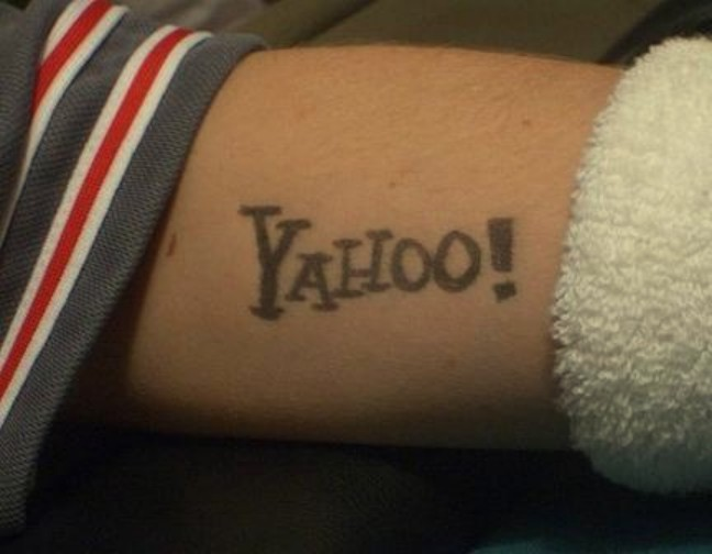 yahoo tattoo