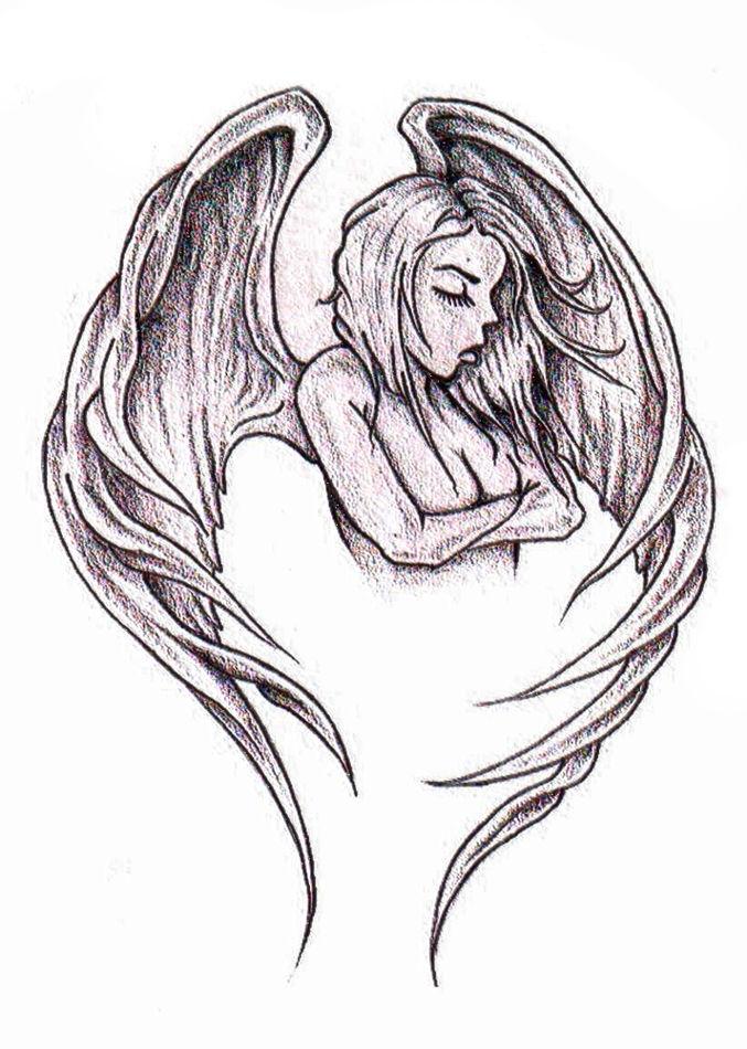 Anioły Wzory Tatuaży