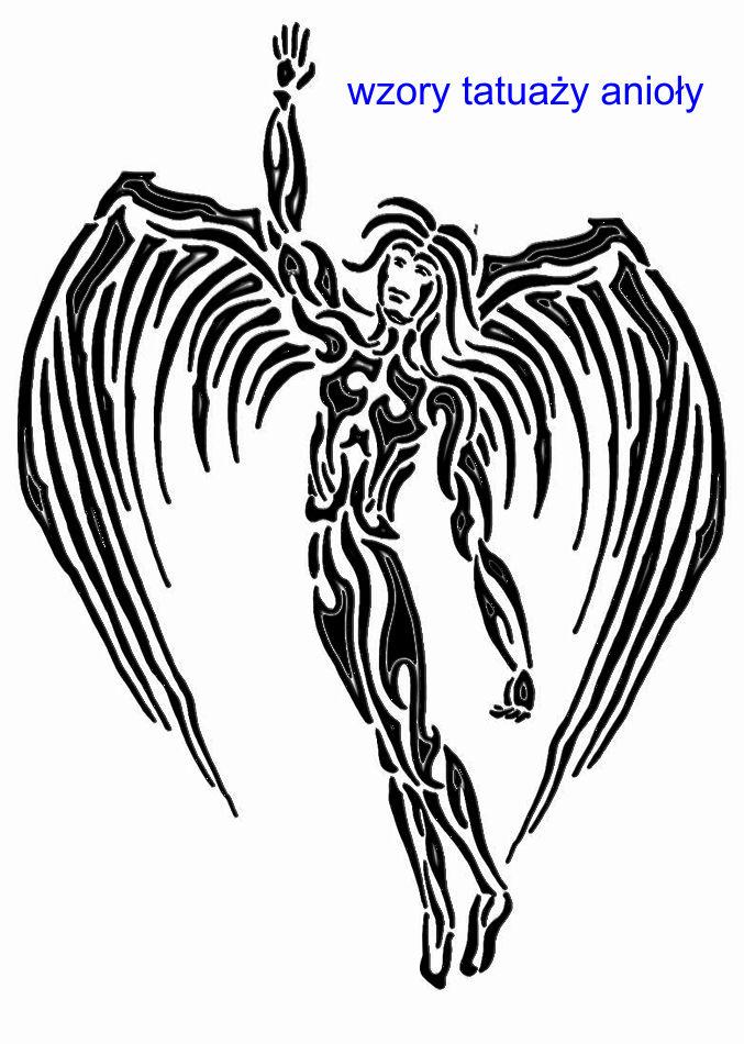 Wzory Tatuaży Anioły