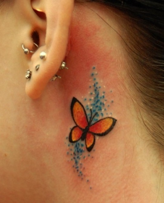 motyl,tatuaż,tatuaże motyl,tattoo,butterfly