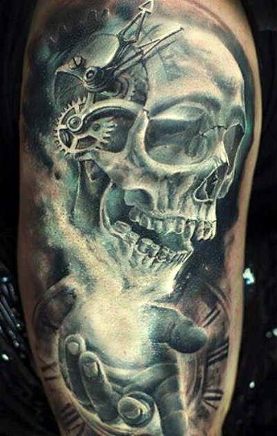skulls, design tattoo, skull tattoo