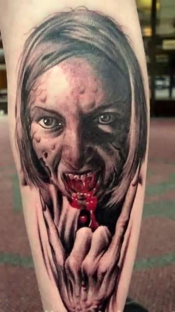 vampire, tattoos, vampire tattoos