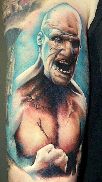 tatuaże wzory, film 300