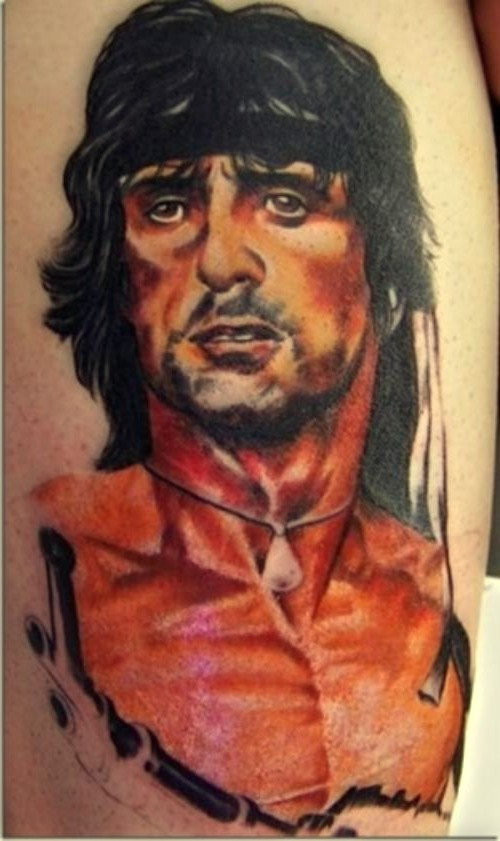 rambo, tattoo