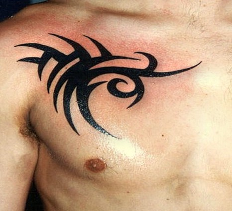 tribal tattoo, tattoo