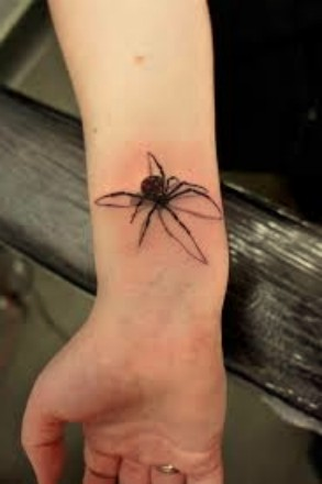 spider, tattoos