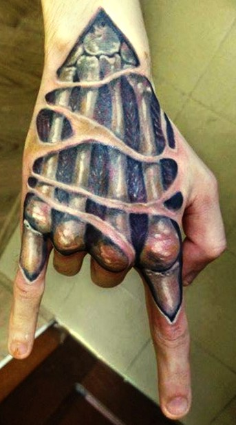 3d hand tattoo for 3d hand tattoo