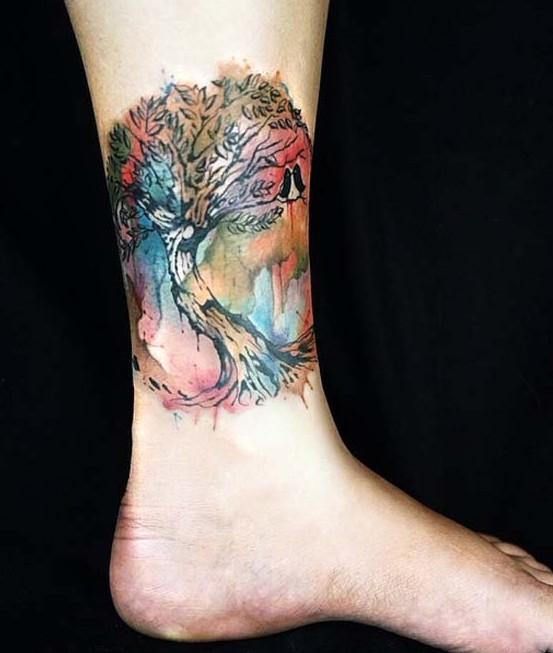 Drzewo Nad Kostką