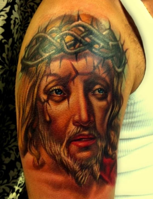 Jezus w koronie