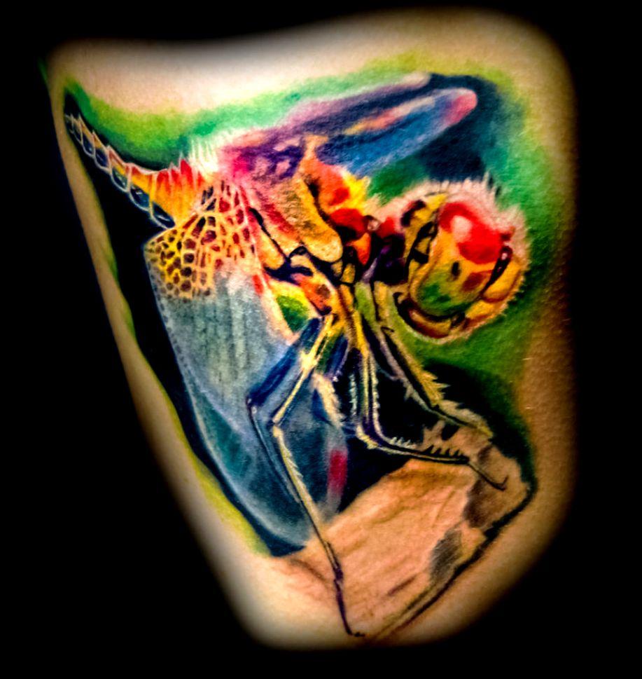 tatuaż ważka 97285