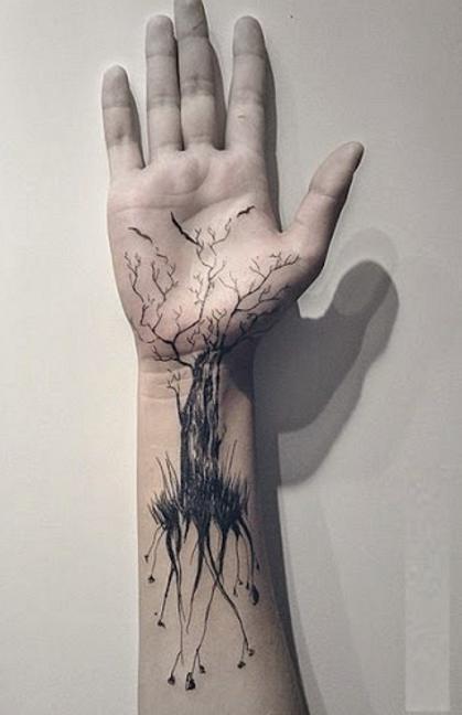 Татуировки на запястие мужские