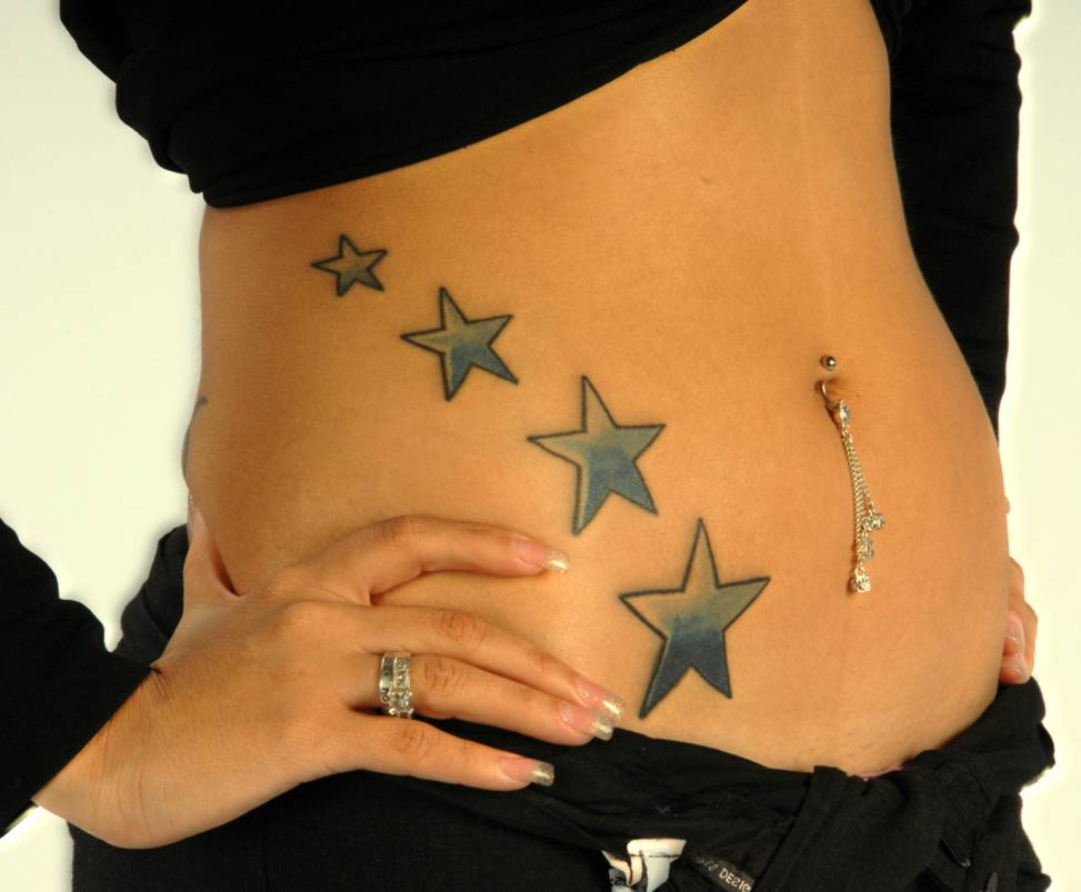 stars tattoos for women