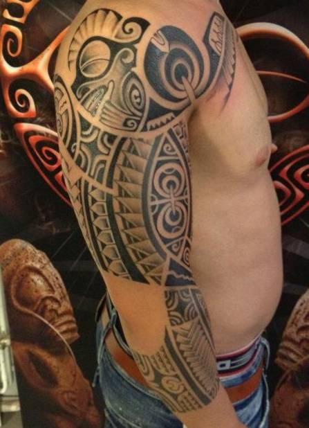 tatuaże wzory,maori