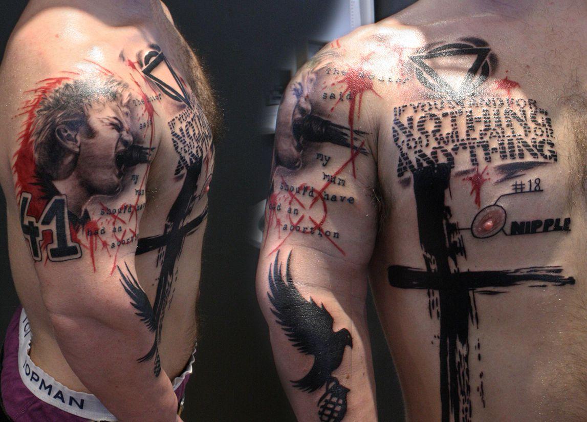 różne wzory tatuaży