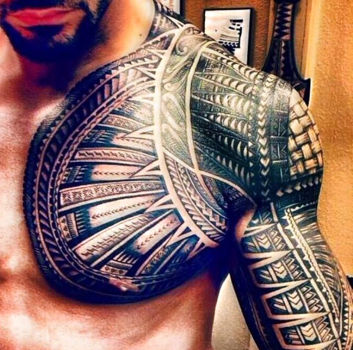 Polinezyjskie Tatuaże Dla Mężczyzn