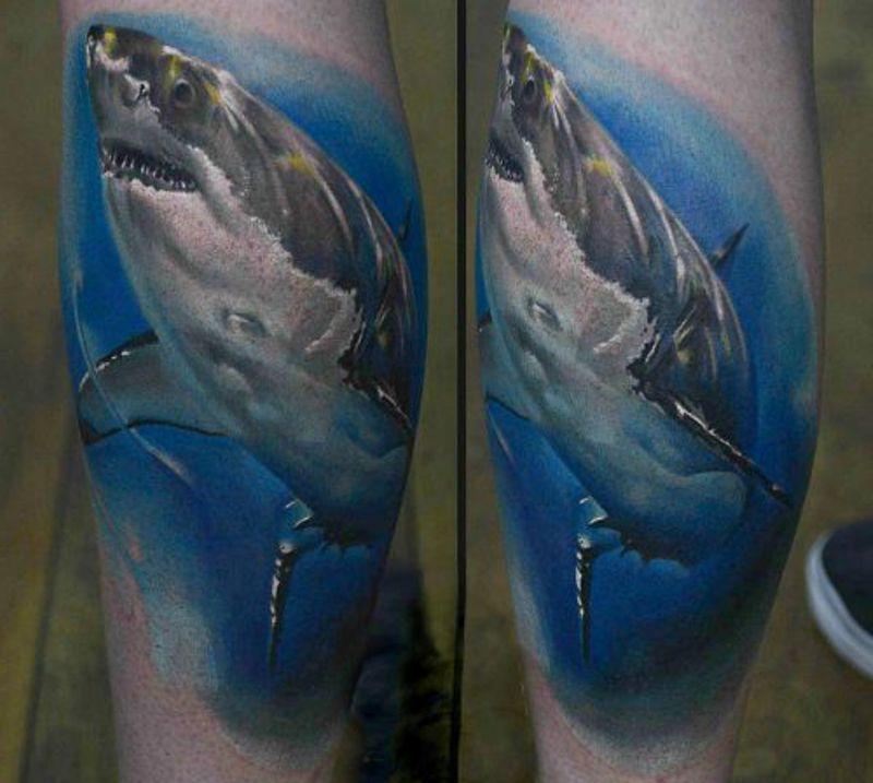 tattoo shark for men