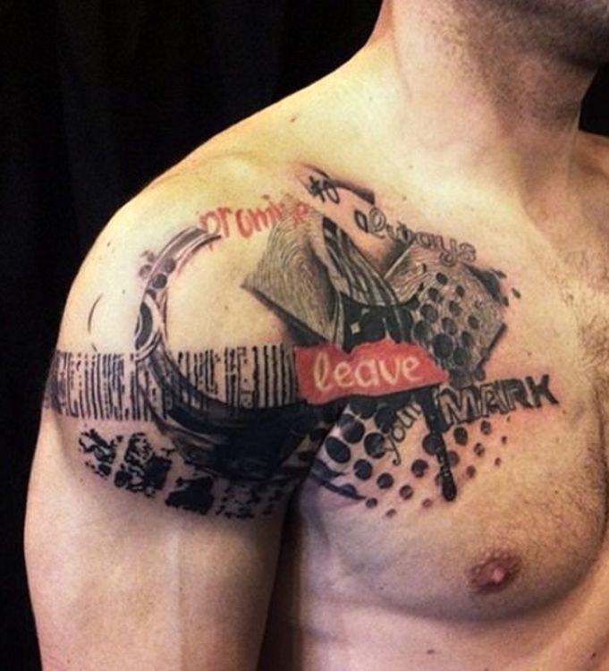 Tatuaż Na Ramię Dla Faceta