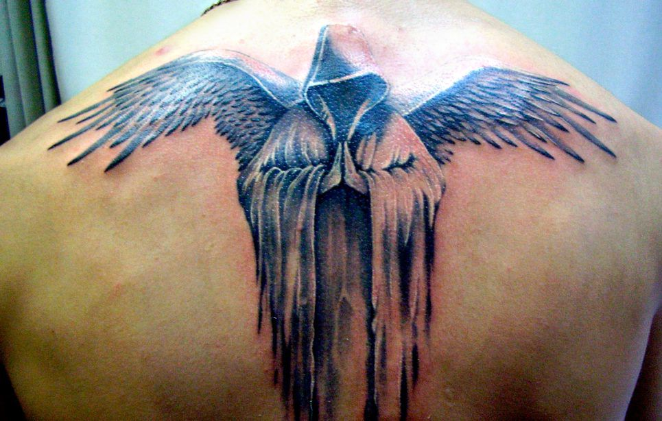 Tatuaż Anioł Na Plecach Blog Super Oli