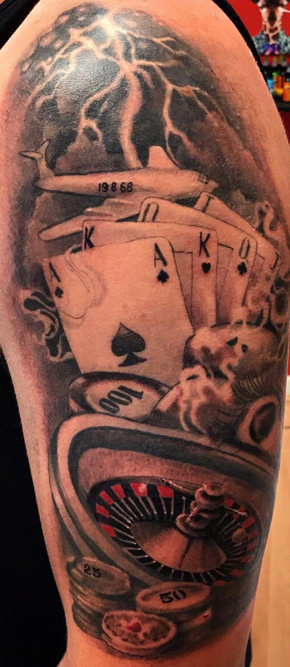 Ruletka I Karty Tatuaże
