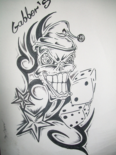 Klaun W Tribalu