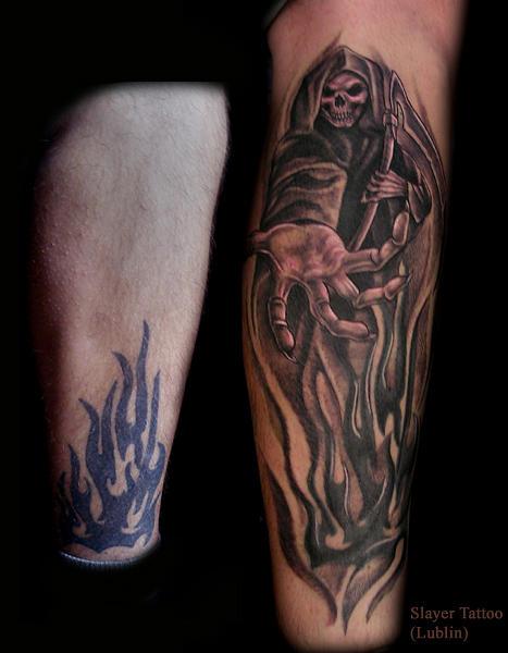 tatuaze na noge