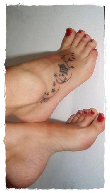 Tatuaże Tatuaże Na Stopie 3909